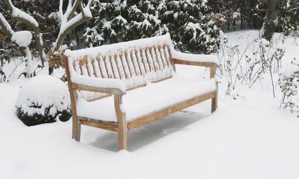 Vinteropbevaring af havemøbler