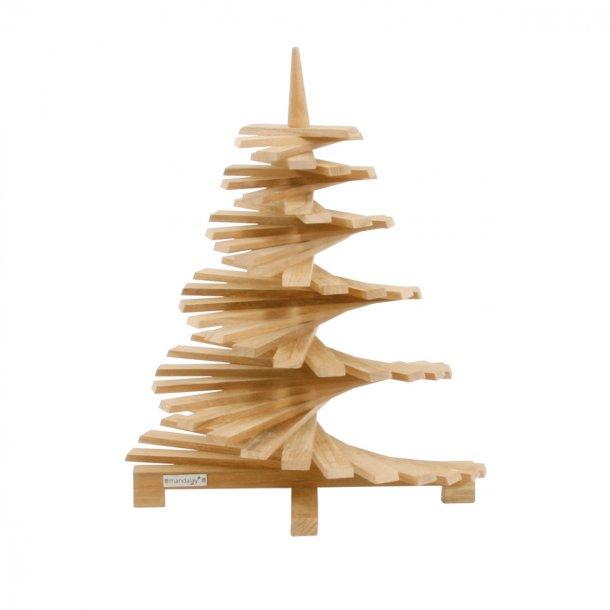 Juletræ i teak - mellem