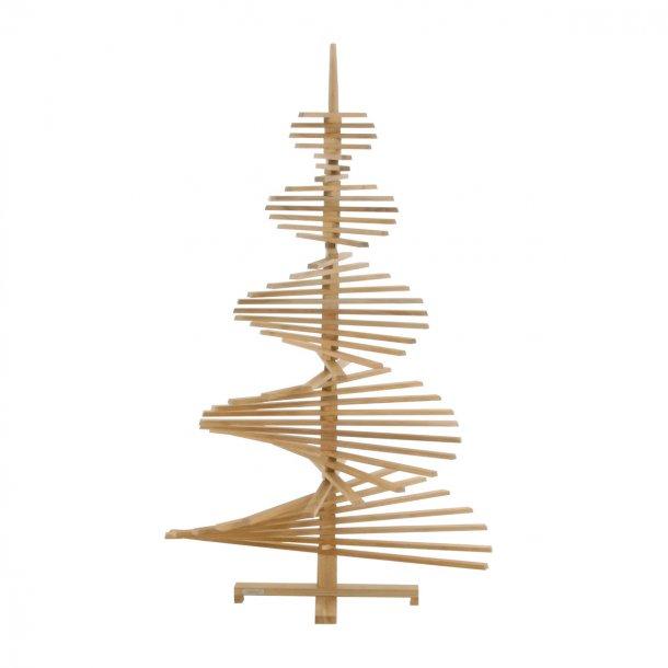 Juletræ i teak - stor lukket