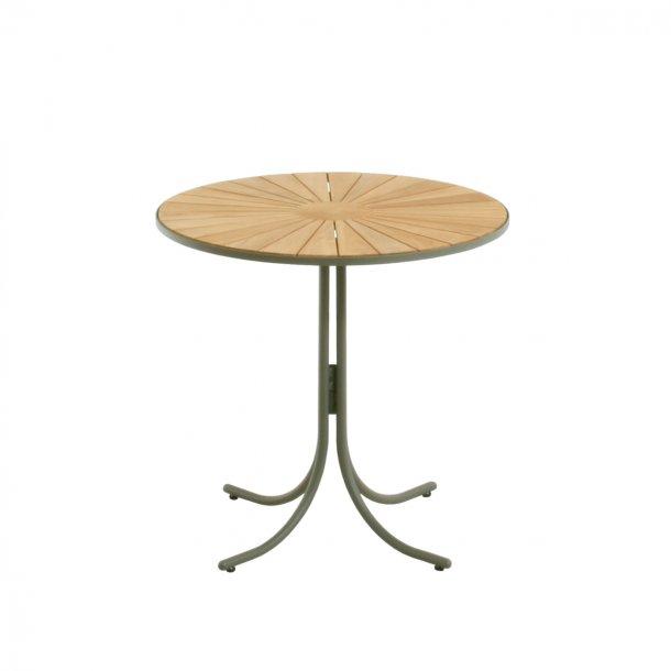 Marguerit cafébord Ø70 - olivengrøn