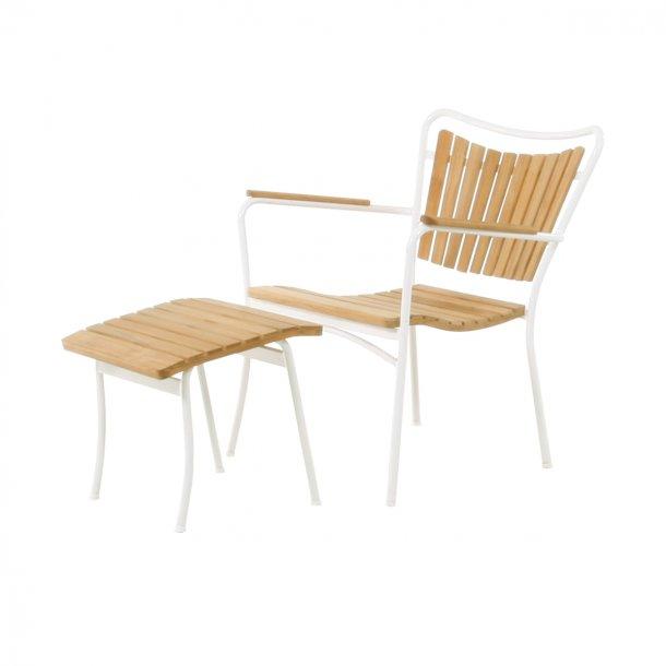 Marguerit loungesæt - hvid